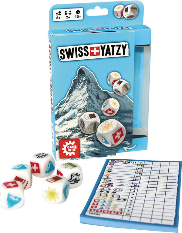GAME FACTORY® Yatzy Swiss