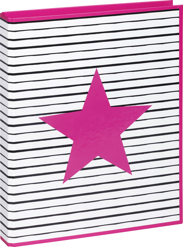 PAGNA® Ringbuch Pink Star