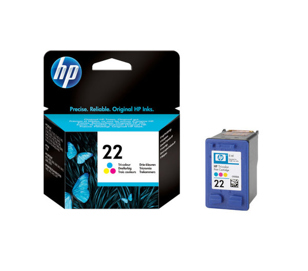HP Tintenpatrone 22 color