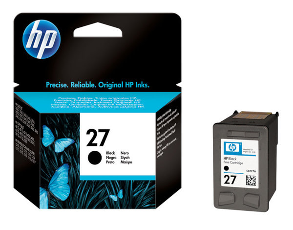 HP Tintenpatrone 27 black
