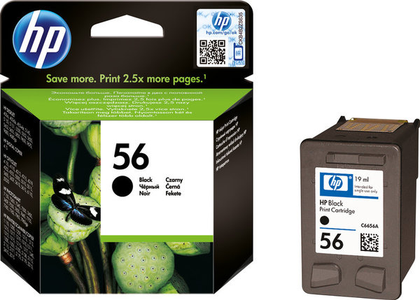 HP Tintenpatrone 56 black