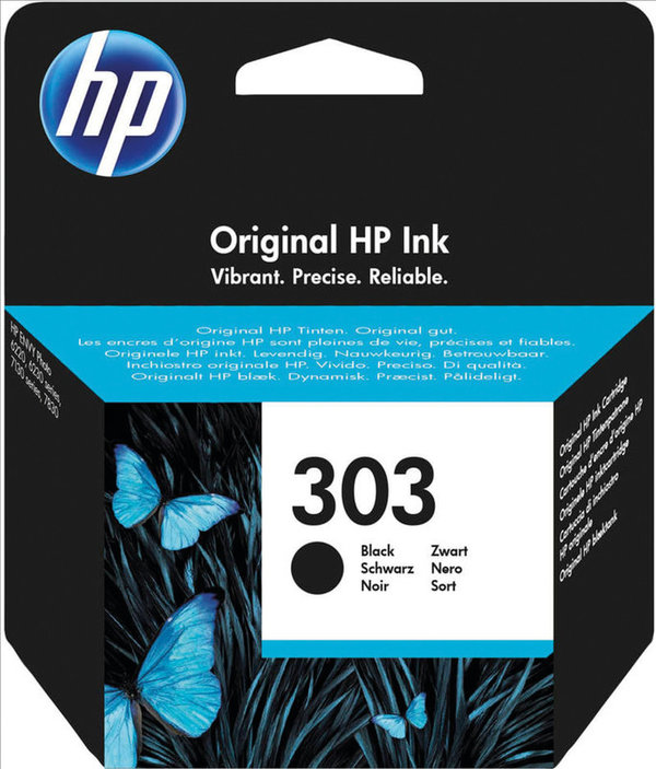 HP Tintenpatrone 303 black