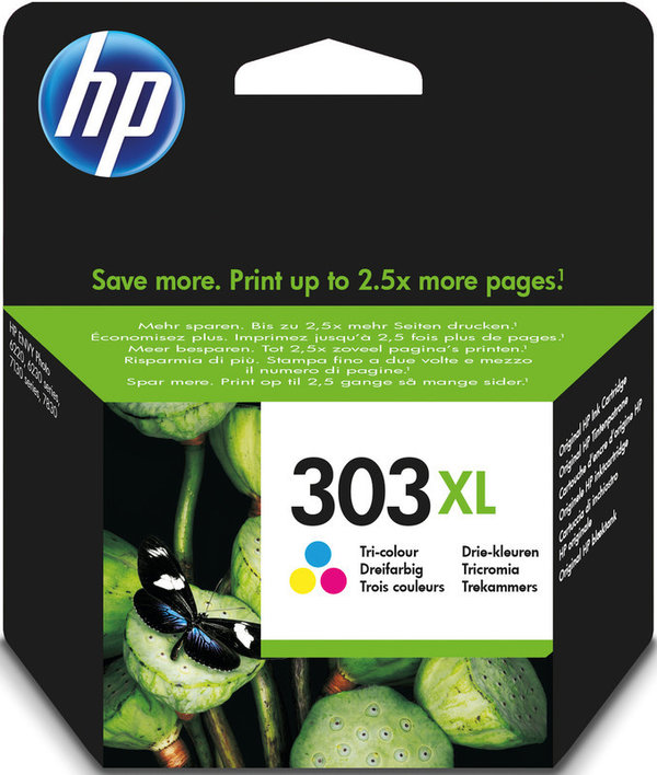 HP Tintenpatrone 303XL color