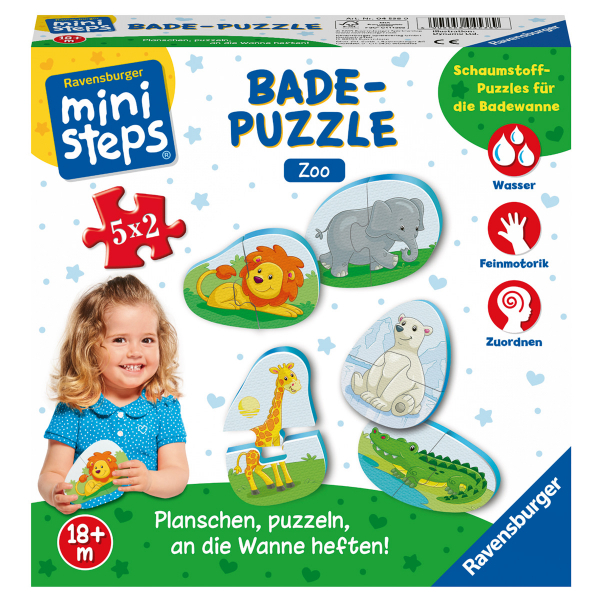 Bade-Puzzles Zoo, d